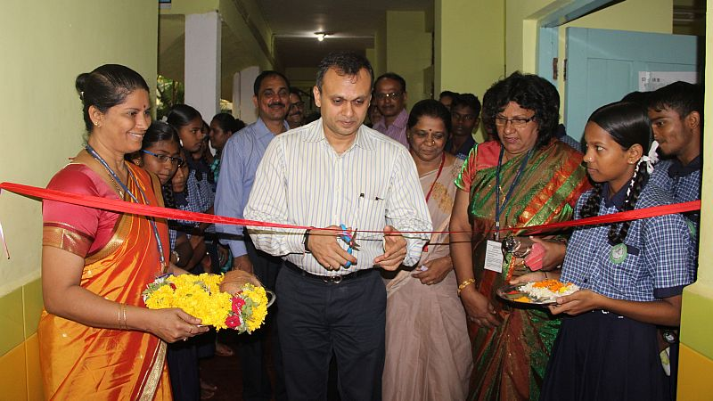 TERI Dempo School Project sees Paper Recycling Machine