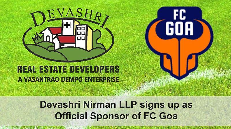 Devashri Nirman LLP signs up as Official Sponsor of FC Goa