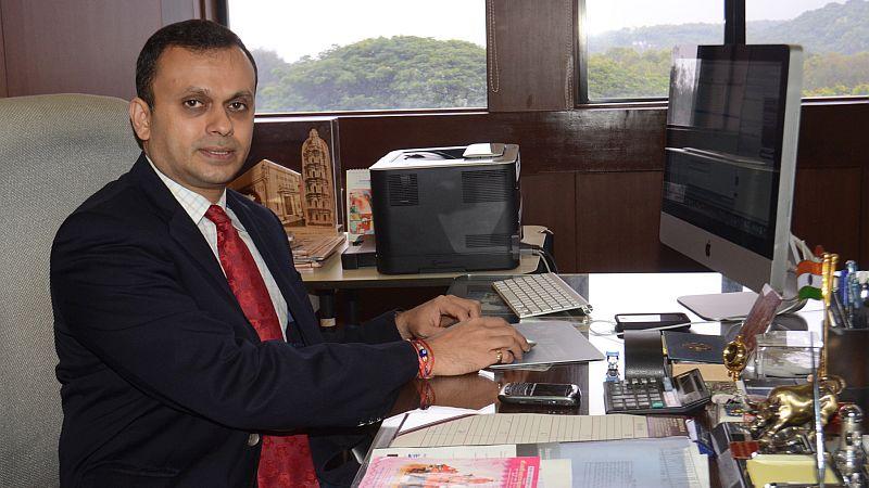 Shrinivas V. Dempo is now chairman of Automobile Corporation of Goa Ltd.