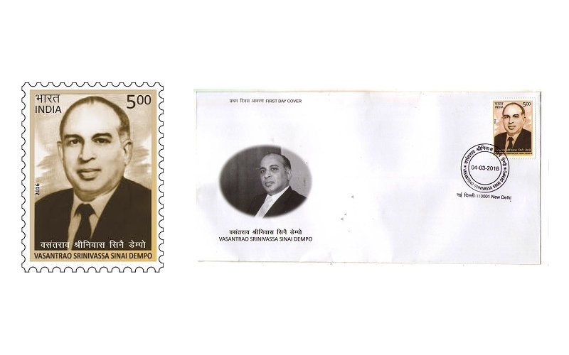 Postage Stamp on Group Founder