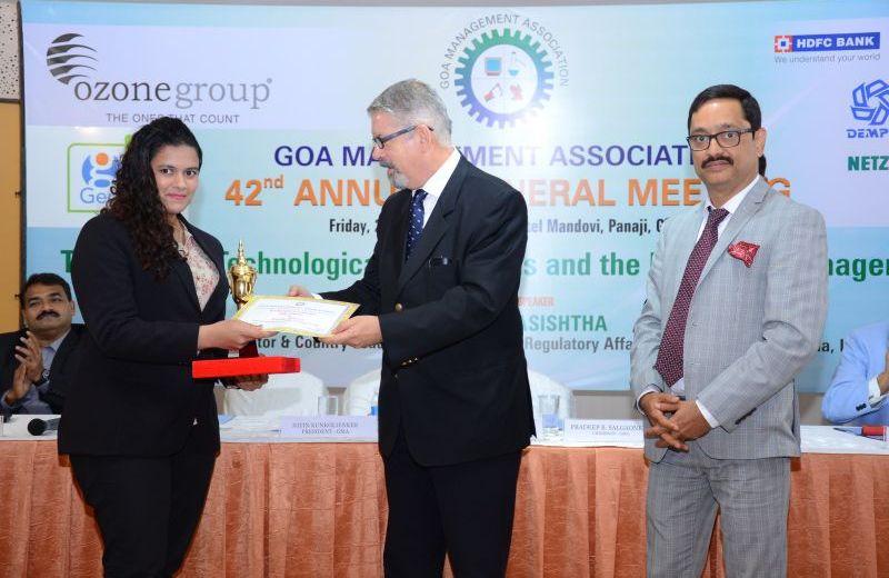 Winner – GMA Best Management Student Award 2017 – UG