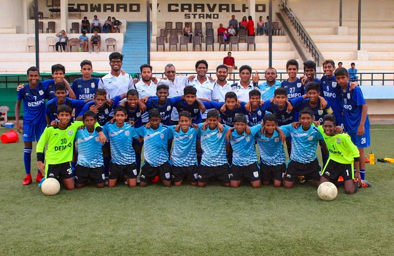 The victorious Dempo SC team