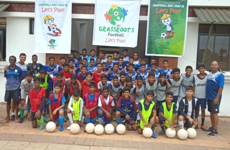 AFC Grassroots Festival for Dempo SC Boys