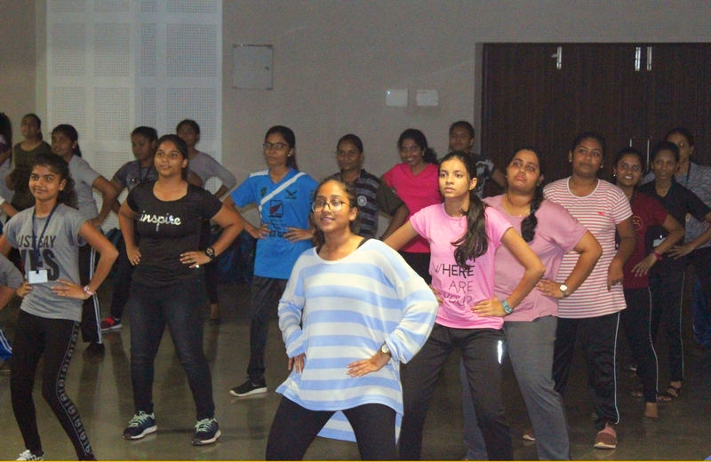 Students of VDHSS celebrates Fit India movement