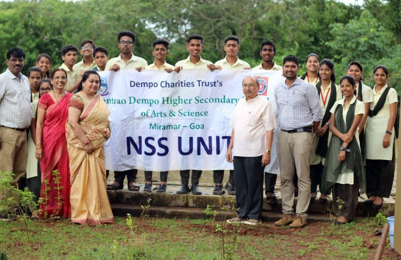 Vasantrao Dempo Higher Secondary School's NSS Unit Inaugurated