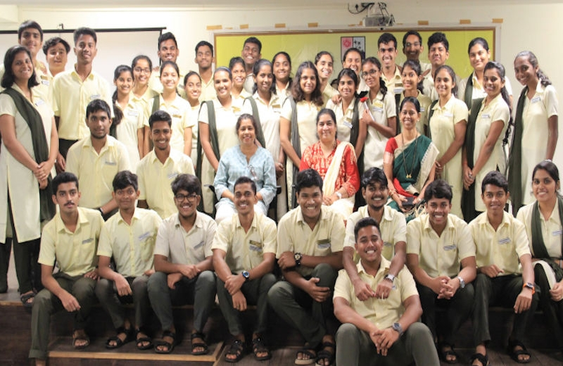 Vasantrao Dempo Higher Secondary School's Students Council Inaugurated